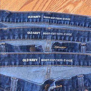 Old Navy Jeans - BUNDLE OF 3 Men's Jeans